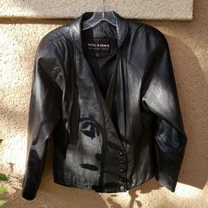 Vintage 80's Wilsons Leather Jacket